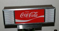 Vintage Enjoy Coca-Cola Lighted Sign - Soda Fountain Machine Topper