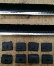 Ford consul mk2 door glass seals + clips x10. NEW WEBSITE NOW UP AND RUNNING
