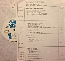 RADIO SHOW: 4/15/86 THIS WK '74! JONI MITCHELL, REDBONE, BLUE SWEDE, RAY STEVENS