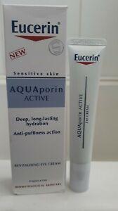 Eucerin Aquaporin Active Revitalising Eye Cream 15ml Fast 1st  Class 📫☆☆☆☆