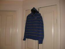 Ladies Jumper/Jacket With Hood Design Diadora   Size 16 Long Sleeves Royal Blue