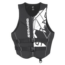 SEA-DOO MEN'S FREEDOM LIFE JACKET P/N 2858641490 XXL BLACK