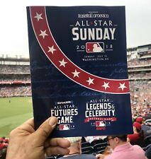 2018 All Star Futures Game Program~All Star Game @ Nationals Park