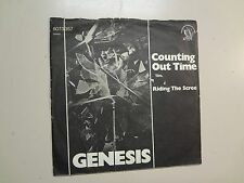 """GENESIS:Counting Out Time-Riding The Scree-Germany 7""""74 Charisma Label 60733 PSL"""