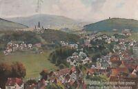 Wiro Künstlerkarte Königstein im Taunus verschickt nach Berlin 1927 vom Feldberg