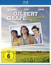JOHNNY DEPP/LEONARDO DICAPRIO/+-GILBERT GRAPE: IRGENDWO IN IOWA BD BLU-RAY NEU