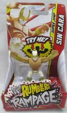 "WWE Wrestling Rumblers Rampage Super Jump Sin Cara Action Figure 2"" White Gold"