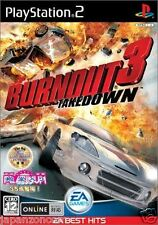 Used PS2  Burnout 3: Takedown  SNK SONY PLAYSTATION 2 JAPAN