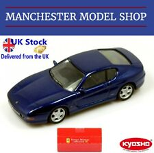 Kyosho 1:64 Ferrari 456M GT metallic blue ORIGINAL BOXED - VERY RARE