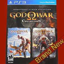 God OF WAR COLLECTION RIMASTERIZZATO in HD-PLAYSTATION 3 ps3 ~ NUOVO di zecca