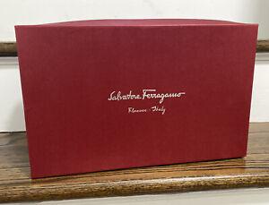 """Ferragamo Empty Storage Shoe box  Red 13.5x8.5x4.75"""""""