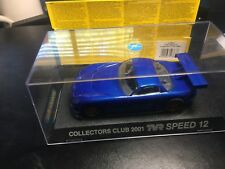 Scalextric Club Slot Car, Tvr Speed 12, 2001, C2363, New In Box, 12-24-2020