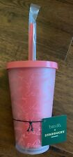2018 Starbucks Tumbler with straw 16 oz Limited Edition