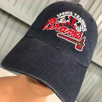 Atlanta Braves Disney Parks Spring Training ESPN Strapback Baseball Cap Hat