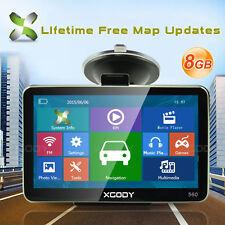 Car Truck 5 Inch Gps Sat Nav Navigation Navigator System 8Gb SpeedCam Roadmate