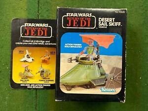STAR WARS DESERT SAIL SKIFF Mini-Rig  Return of the Jedi 1983 Unplayed With