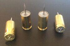 9 mm Spent Brass Push Pins (4 ct)
