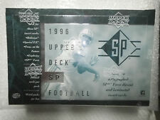 1996 Upper Deck SP Football Sealed Box Owens Harrison Ogden George Moulds Thomas