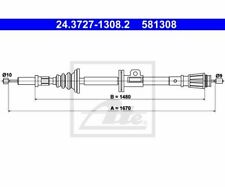 ATE Cable, parking brake 24.3727-1308.2