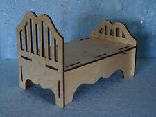"AllforDoll DIORAMA Furniture BED for 12-16"" Dolls - Tonner Kish BJD Ficon Gene"