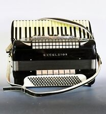 Excelsior Symphony Accordian - See and hear it play! -Awesome- Reed Photos