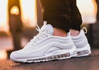 🆕 NIKE Men's Air Max 97 Triple White 921826-101 (Sz: 8.5) 🔥