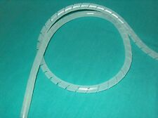 "PANDUIT T50F-C SPIRAL CUT CABLE WRAP 1/2"" NATURAL SOLD BY THE FOOT    ** NEW **"
