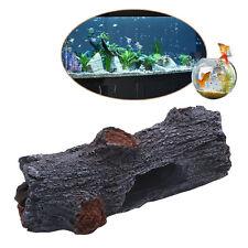 Simulation Polyresin Tree Aquarium Decoration Trunk Log Wood Fish Tank Ornament