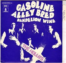 "THE HOLLIES ""GASOLINE ALLEY BRED"" FRENCH 1970 7' ODEON 2C 006-91791"