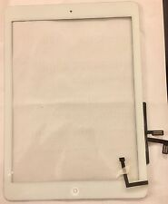 For iPad Air White Touch Digitizer Front Glass Screen x 2