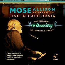 Mose Allison - American Legend - Live in California [New CD]