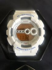 CASIO G-SHOCK X-LARGE WATCH White WATCH GD100SC-7 WITH ORIGINAL BOX 3263