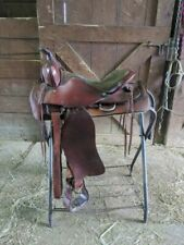 "15"" All Leather Western Saddle"