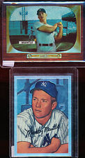 1996 Topps Refractor MICKEY MANTLE - 1952 Bowman chrome reprint 20