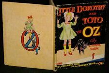 Baum LITTLE DOROTHY AND TOTO OF OZ 1939 NEILL