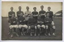 (w14e17-346) Real Photo of Crewe Alexandra (?) Football Team c1910 Unused VG+