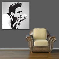 JOHNNY CASH QUALITY PRINT ON CANVAS - Stylish Framed Wall Art - Choose Size