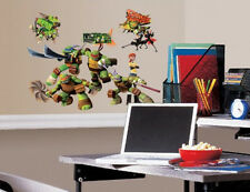 TEENAGE MUTANT NINJA TURTLES wall stickers 30 decals Raphael Leonardo Donatello