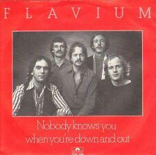 FLAVIUM - Nobody knows you (1981 SINGLE DUTCH BLUESROCK)