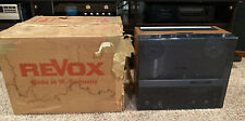 Vintage Revox A77 Reel to Reel Tape Recorder Works Great With Box
