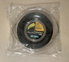 Yonex Poly Tour Pro 16 Reel (PTP 130 Tennis String). Black. Full 200m 656ft. New