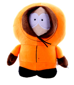 """NEW OFFICIAL 10"""" SOUTH PARK PLUSH SOFT TOYS KENNY SOFT TOY"""