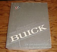 Original 1992 Buick Roadmaster Shop Service Repair Manual 92