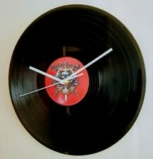 More details for motorhead - 12 inch vinyl record wall clock unique gift