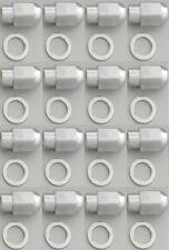 32 PCS EAGLE DUALLY WHEEL RIM LUG NUT MAG SHANK CHROME 14 X 1.5 mm  RH W/ WASHER