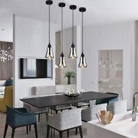 Glass Pendant Lighting Kitchen LED Pendant Light Bar Lamp Bedroom Ceiling Lights
