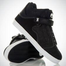 OSIRIS chaussures BINGAMAN VLC noir noir cire baskets (uk 7 eur 40.5)