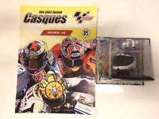 casque motogp joan garriga 1988 1/5 collection altaya neuf boite plexi fascicule