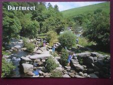 POSTCARD DEVON DARTMEET - THE CLAPPER BRIDGE