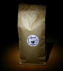 3 Kg Kaffeebohnen Uganda - Espresso frisch geröstet - mit SL-Röstung NP 75€